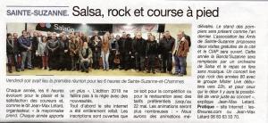 Article du courrier de la Mayenne de Février 2018
